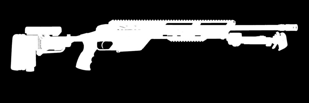 cover, and an adjustable length of pull. The SSG 08-A1 is available in either.