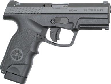 The natural grip angle combined with the renowned trapezoidal sights allow for