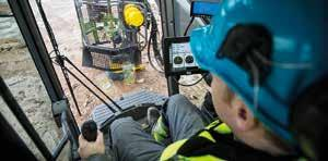 + FLEXIBILITY FOR LONG-TERM PRODUCTIVITY The FlexiROC T45 is equipped with Atlas Copco s dependable and highly productive rock drill control system, COP Logic.