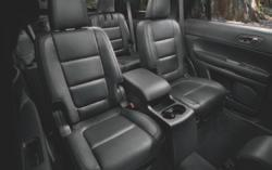 Or add the 2nd-row centre console 1 for more storage. A power liftgate 1 eases access.