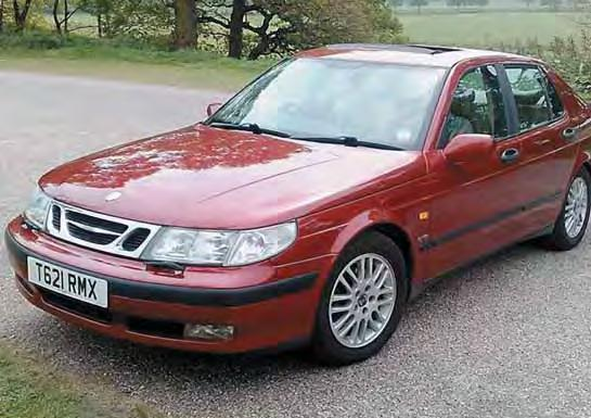 Alan Shore writes: Thought I would register my 9-5. This is a 1999 V6 3.0 litre Turbo Griffin.