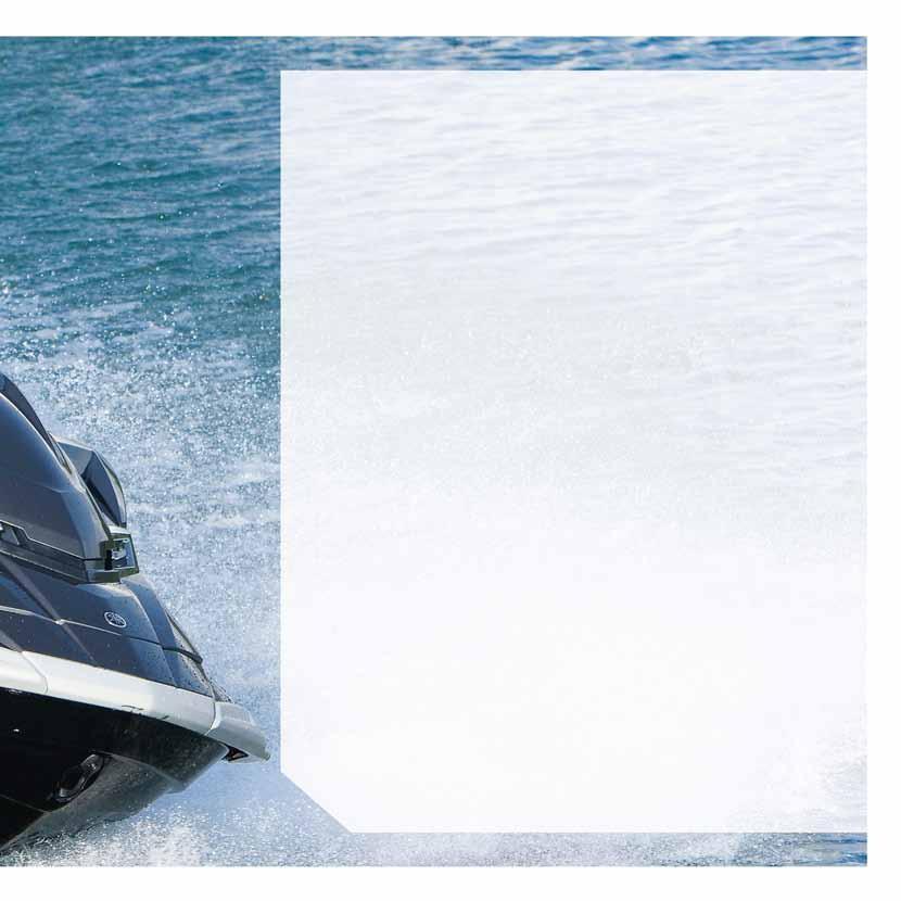 Your passport to Supercharged Express Cruising The all-round capability of this flagship WaveRunner is astonishing.