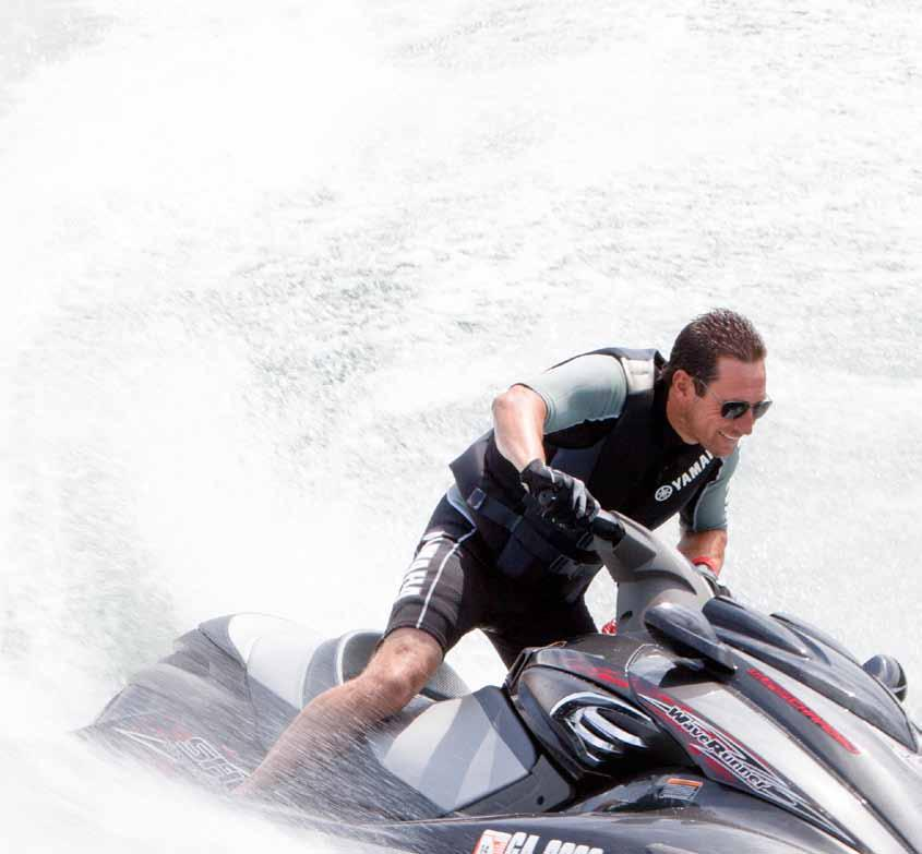 The power to move you. For WaveRunner riders, the innovative design and proven reliability of Yamaha marine engine technology is legendary.