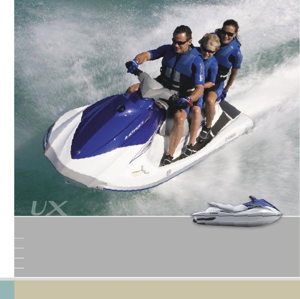 VX HIGH-PERFORMANCE FAMILY WATERCRAFT SEATS UP