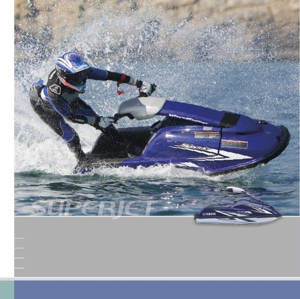 SUPERJET High-Performance racing watercraft 1 rider -