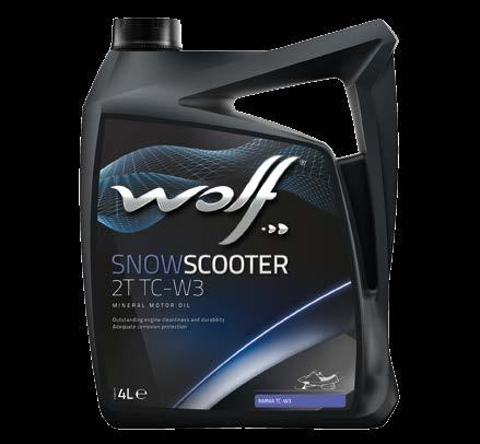 Snow Scooter SnowScooter 2T TC-W3 EXTRA A prediluted synthetic 2 stroke motor oil, for snowscooters working in extremely low ambient temperatures.