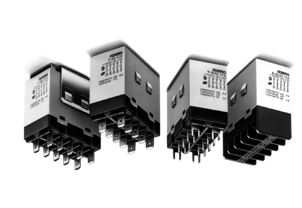 Power Relay A High-capacity, High-dielectric-strength, Multi-pole Relay Used Like a Contactor Miniature hinge for maximum switching power for motor loads as well as resistive and inductive loads.