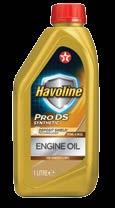 Low Phosphorus formulation helps protect three-way catalysts in emission control systems, helping to reduce exhaust emissions Havoline ProDS engine oils pro-actively protect the latest generation of
