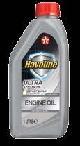 HAVOLINE ULTRA Havoline Ultra engine oils with Deposit Shield Technology offer high performance protection for modern vehicles fitted with low emission engines.