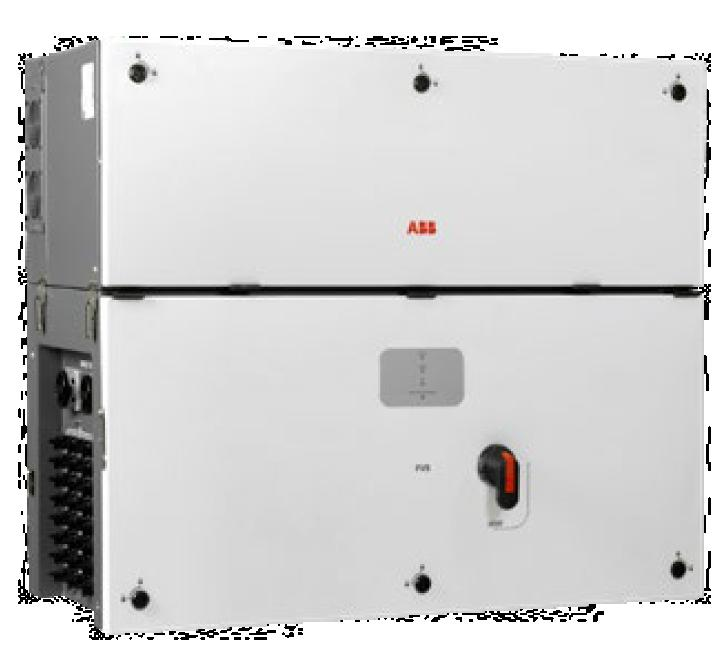 0 inverter is ABB s three-phase string solution for cost efficient large decentralized photovoltaic systems for both commercial and utility applications Has been designed with the objective to