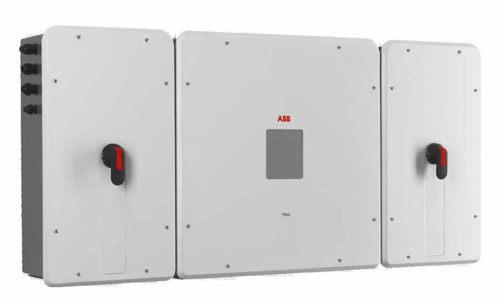 Models: PVS-100-TL / PVS-120-TL PVS-100/120-TL ABB string inverter 100 to 120 kw The PVS-100/120-TL is ABB s cloud connected three-phase string solution for cost efficient decentralized photovoltaic