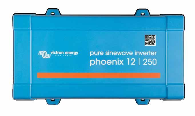 power domestic equipment requiring 230V/120V AC - using 'leisure' or 'automotive' batteries rated at 12V, 24V or 48V DC. * Works with VictronConnect VE.