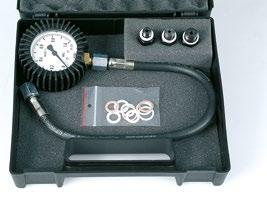 It is designed to measure oil pressure in engines with pressurized orrication system.