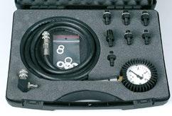 914 700 00 PCO - 10 SK Engine diagnostics Specifi cation - Manometer with pressure hose long 1m 914 710 00-10 pieces Measuring tips of various to most types of threads used in the engine oil pressure