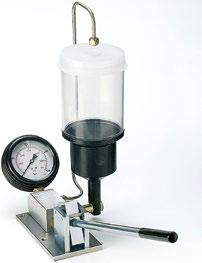 quality of atomization, - The tightness of injector, - Manner dripping of injector.