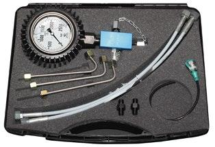 Diesel Diagnostics Common Rail Measurement kit high pressure for Common Rail systems 2500 bar Specifi cation Art. 919 610 00 Measurement kit high pressure for Common Rail systems.