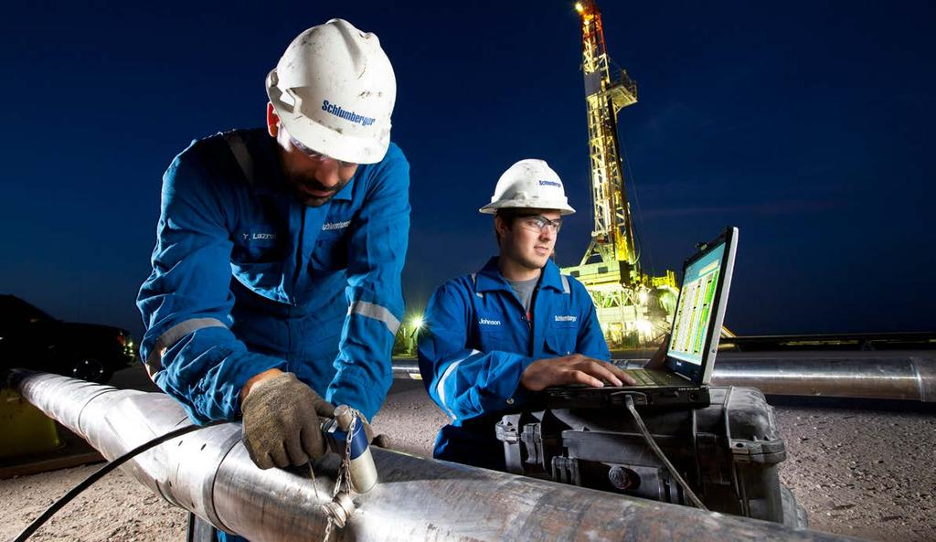 Image courtesy of schlumberger. Sold & Serviced By: Measurement While Drilling. Measurement While Drilling (MWD) uses a measurement module located behind the drill head in the string.
