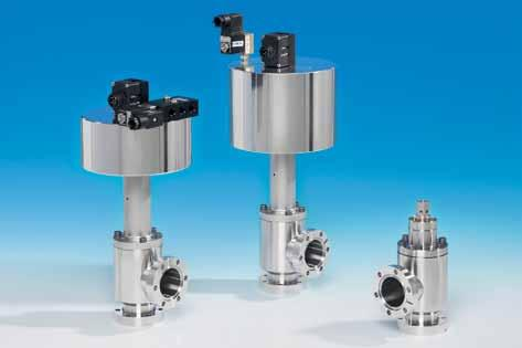 ll-metal angle valve Series 57 Main applications For vacuum processes with extreme UHV requirements and / or when using aggressive media Ordering information Valve with manual actuator hexagon head