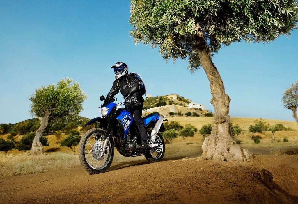 Adventure every day The XT660R is the latest member of Yamaha