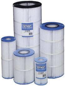Unicel Replacement Filters Most Common Filters C4625 Rainbow 25 Inline 4-15/16 x 13-5/16 x 2-1/8 C4326B Rainbow 25-25 sq. ft.