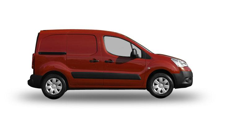 The largest light commercial vehicles product range New Berlingo/Partner 3.