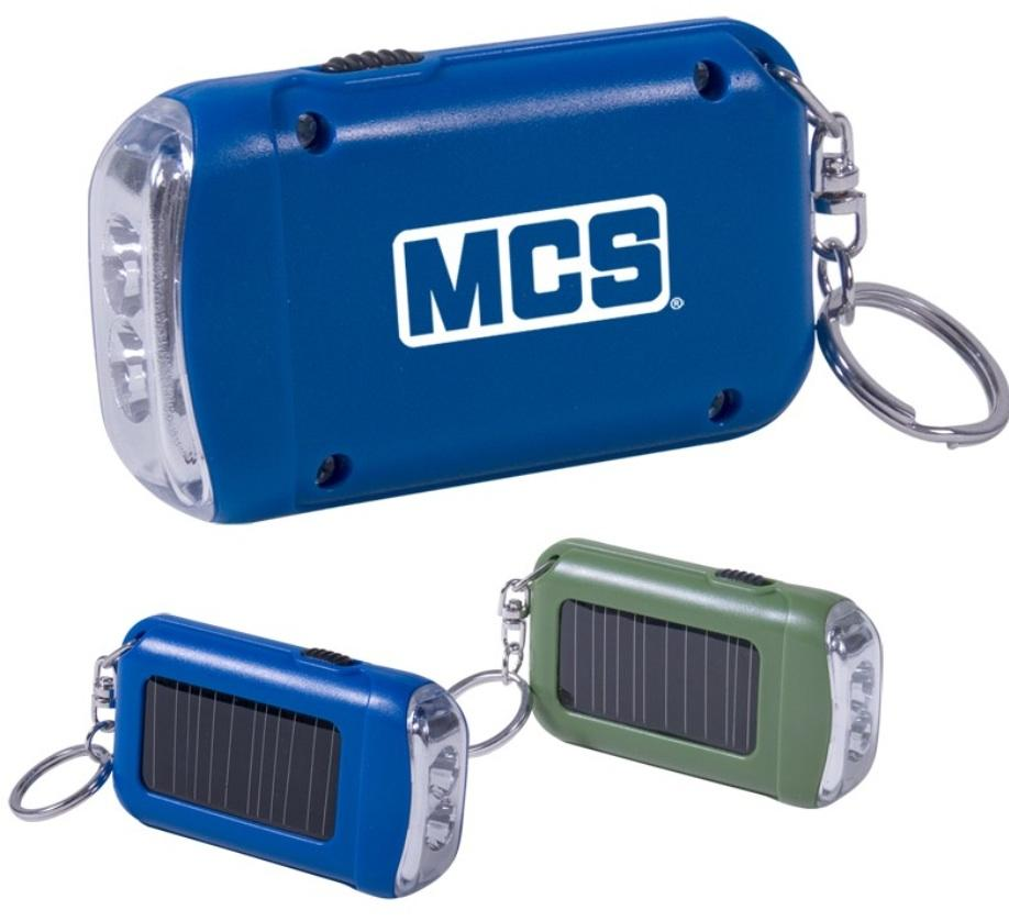 Hand Crank Mini LED Flashlight Keychain Regular Price: $4.19 each Closeout Price: $2.