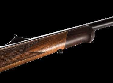85 BAVARIAN & BAVARIAN LEFT-HANDED The Sako 85 Bavarian is a masterpiece, combining a high-grade walnut stock in a Central European tradition with the