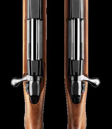 85 HUNTER LEFT-HANDED Action S S M M L Dimensions Caliber / Rate of Twist / Number of Grooves Features Total length mm 1075 1015 1085 1025 1145 Barrel length mm 570