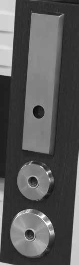 "Escutcheon Dual radii edge 2"" CE Contemporary"