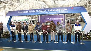 Philippines and Vietnam Opening Ceremony of a new automobile plant in Indonesia Ceremony of a new automobile assembly plant (Cikarang Plant), which had been