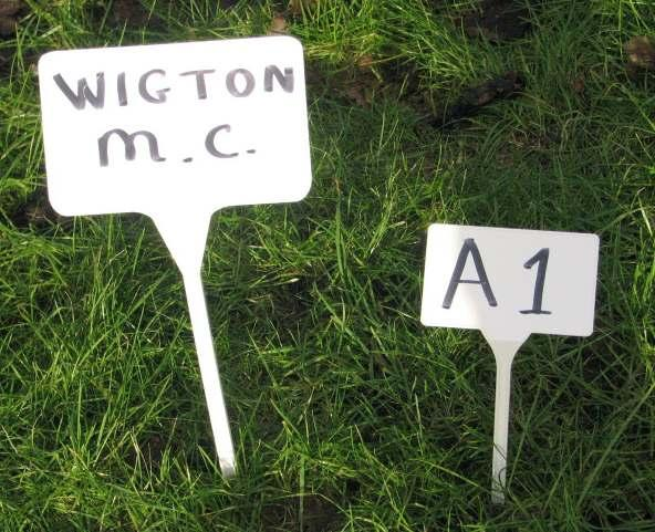 Classic Column News from the Classic Scene There are our new markers for the Cumbria Classic and Motorsport Show.