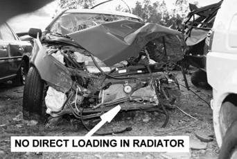 Fatal car crash configurations and injury panorama-with special emphasis on the function of restraint system Figure 24. Front of subject car (SO case 3).