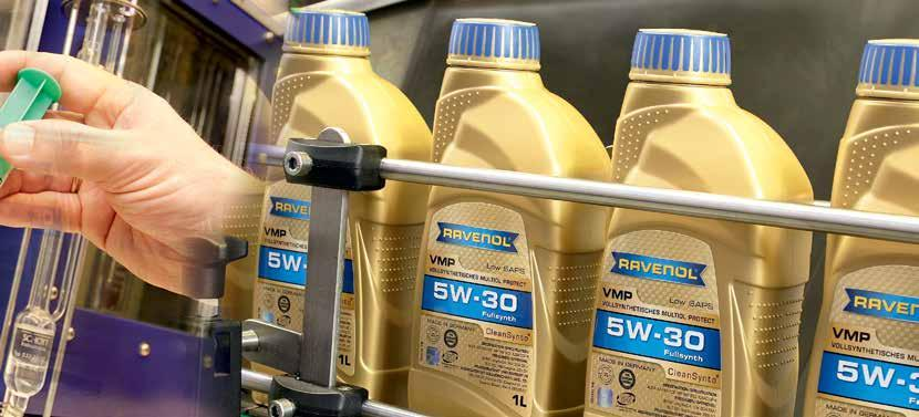 Ravensberger Schmierstoffvertrieb GmbH Our range of products Automobile and truck engine oils, two-stroke engine oils, rallye and racing oils, gearbox oils for automatic transmission systems, oils