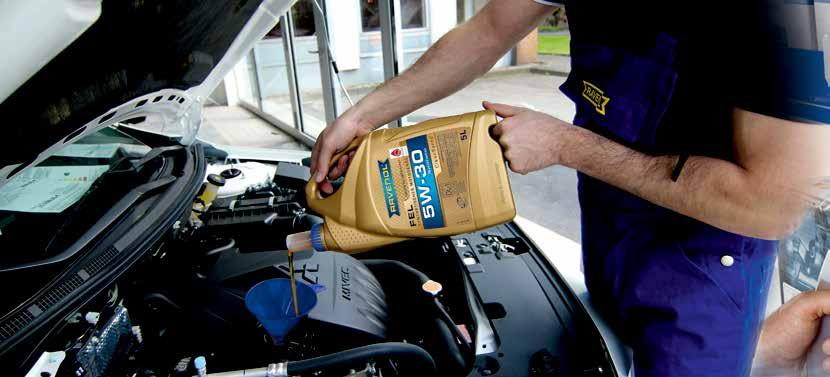 RAVENOL is integrated into the TecDoc information system as a data supplier and the