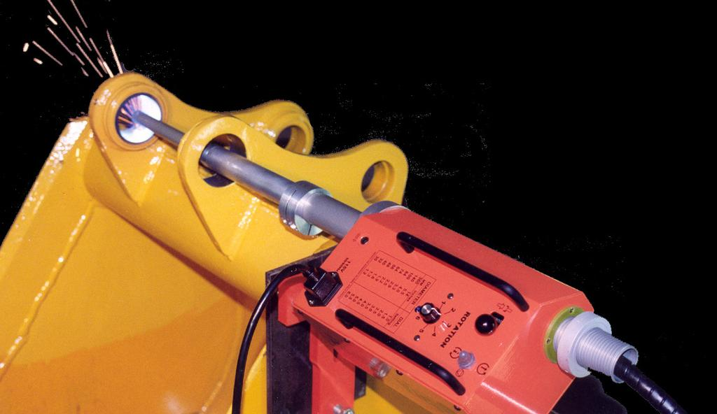 Coupled with one of Bore Repair Systems boring bars and new Center Support System, it will provide you with a means of repairing worn bores on all types of equipment in the fastest, most efficient