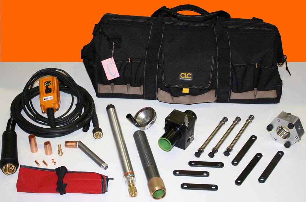 BOA-M1 Bore Welding System (our most compact and affordable bore welding system) The BOA-M1 basic bore welding system is Bore Repair Systems most compact and affordable bore welder.