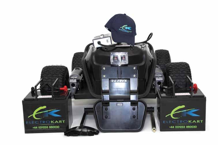 Take it wherever you play The real beauty of the ElectroKart Voyager is the ease with which you can take it apart. No other buggy folds away to be as neat and compact as the ElectroKart Voyager.
