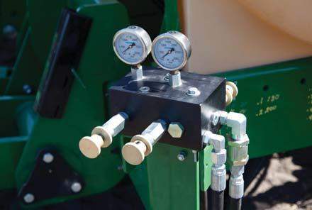 Nutri-Pro Anhydrous (A) and Liquid (L) Optional raven single or dual cooler Strong pull type hitch option, or choose 2-point mounted with lift assist or 3-point mounted without lift assist NH3