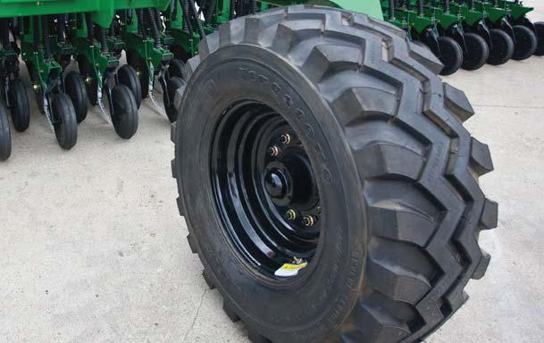Frame-mounted coulters for tough no-till conditions 10HD series openers feature heavier down-pressure springs: 38 cm blades with 13 mm offset allows better penetration in heavier conservation