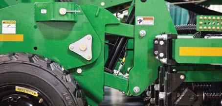 Both hydraulic weight transfer and hydraulic down pressure ensure the drill penetrates the