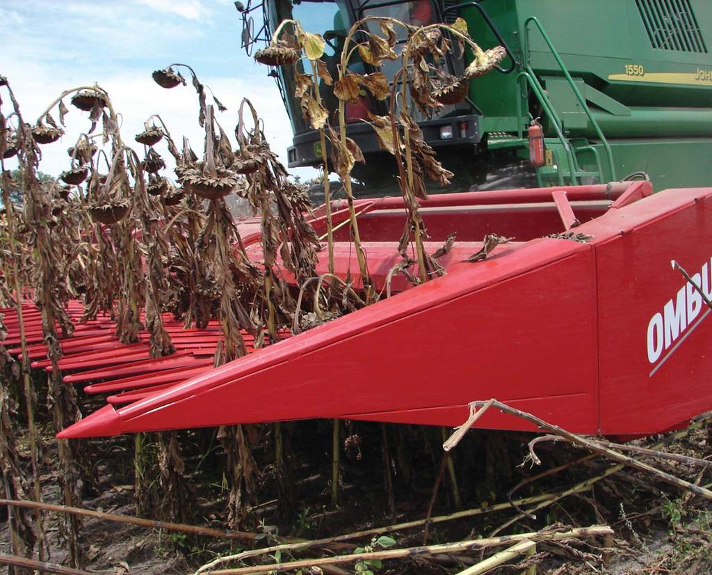 moet word. Large flaps prevent any crop loss.