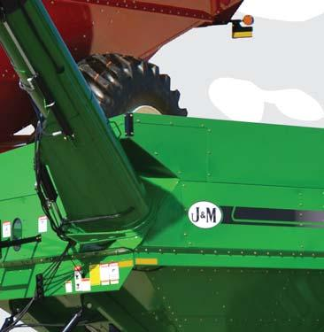 Ease of operation - Designed with the operator in mind, the unloading auger