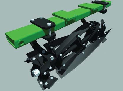 - Loosens, levels, and breaks up clods. This attachment puts the finishing touch on the perfect seedbed.