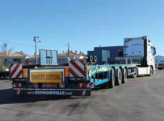 expensive project for building wind power plants for energy production. The flatbed vehicles left the European continent in several lots and headed by ship to Africa around the turn of the year.