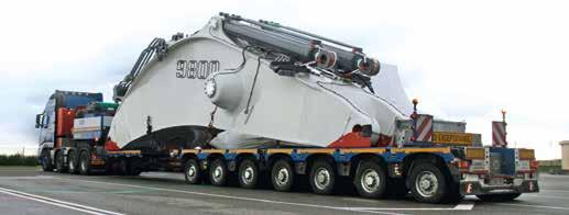 PRODUCT TO THE MAX The variable length is very useful The CombiMAX is making waves in the sector outside Europe as well. For example, Karmiel Transporters Ltd.
