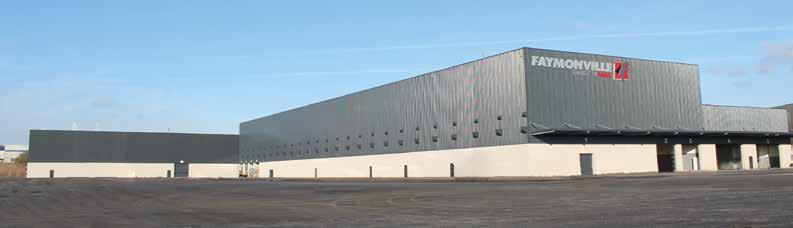 COMPANY TO THE MAX Ultramodern production technology on 16,000m² in the new hall in Luxembourg Manufacturing infrastructure to the MAX The gold standard in production and logistical technology can be