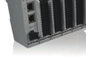 KEB Remote I/O system Remote I/O system The stackable input and output modules of the KEB Remote I/O system transfer the external process signals via the EtherCAT network to the control system