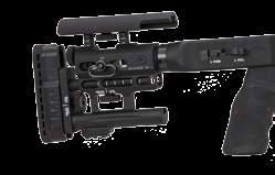 Aisi 630 w/ detach. magaz. PVD coated Top Rail 20 Moa Magazine 5 Rounds (compatible AI AICS system) Side Rails Standard Equipment only on Oct. Ellipt. forend Folding evo w/ open-closed lock. posit.