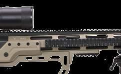 FLUTED Top Rail 45 Moa Action Marte CT 3-lug action in Aisi 630 w/ detach. magaz.
