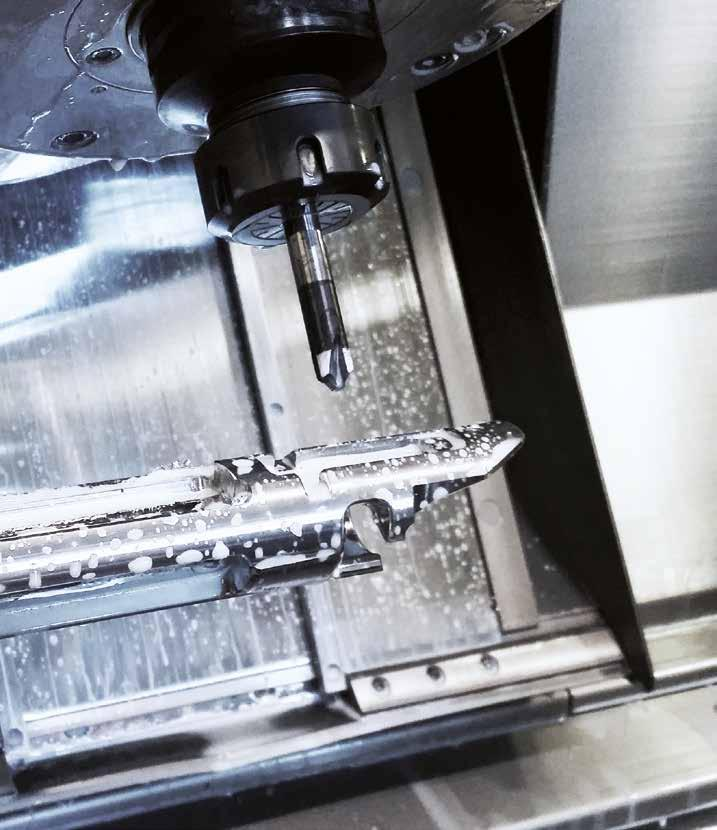 Our team of precision engineers and craftsmen have at their fingertips the most modern and sophisticated five axis CNC machining centres, spark